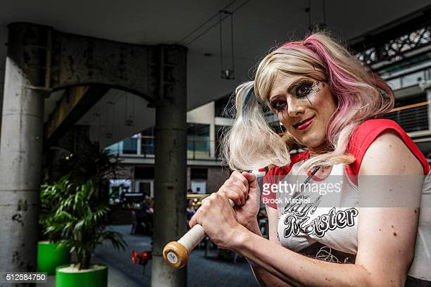 Jade attends the GX Australia convention at Australian Technology Park on February 27 2016 in Sydney Australia The convention is the first Queer...