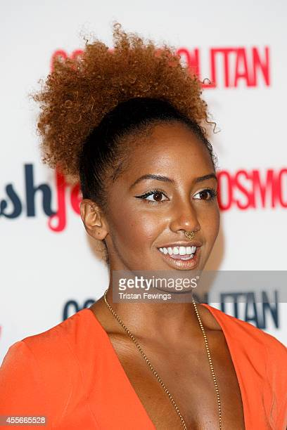 Jade Avia attends the Cosmopolitan #FashFest event at Battersea Evolution on September 18 2014 in London England