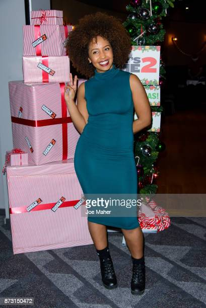 Jade Avia attends the UK gala screening of 'Daddy's Home 2' at Vue West End on November 12 2017 in London England