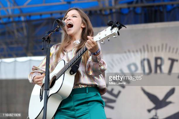 Jade Bird performs during day two of the 2019 Newport Folk Festival at Fort Adams State Park on July 27 2019 in Newport Rhode Island