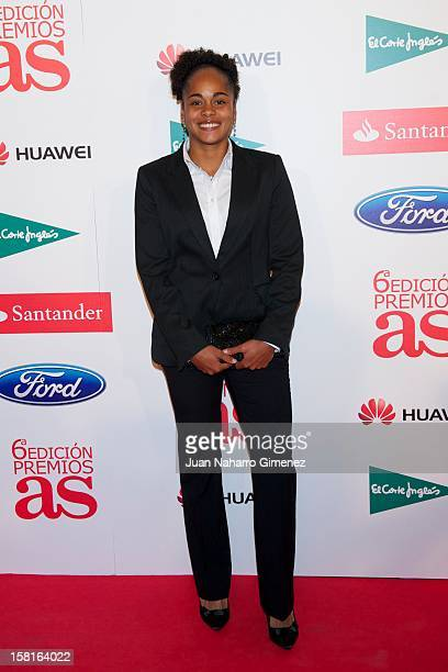 Jade Boho Sayo attends As del Deporte awards 2012 at Palace Hotel on December 10 2012 in Madrid Spain