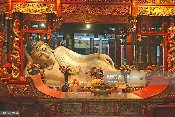 Estatua de buda de jade