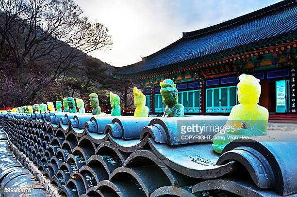 jade buddhas - incheon stock pictures, royalty-free photos & images