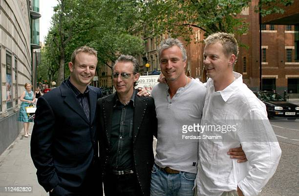 Jade Carmen Louis Paltnoi David Ginola and Tim Knight