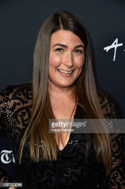 Jade Castrinos attends the 2018 LA Film Festival Opening Night Premiere Of 'Echo In The Canyon' at John Anson Ford Amphitheatre on September 20 2018...