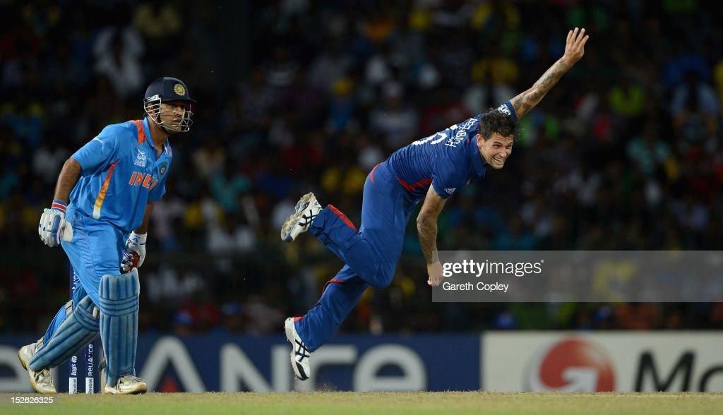 England v India - ICC World Twenty20 2012: Group A : Foto di attualità