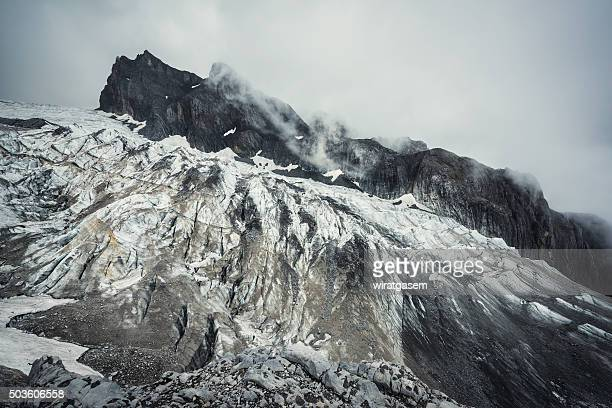 jade dragon snow mountain - wiratgasem stock photos and pictures