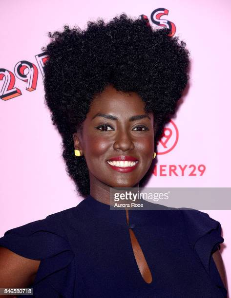 Jade Eshete attends Refinery29's 29Rooms Turn It Into Art at 106 Wythe Ave on September 7 2017 in New York City