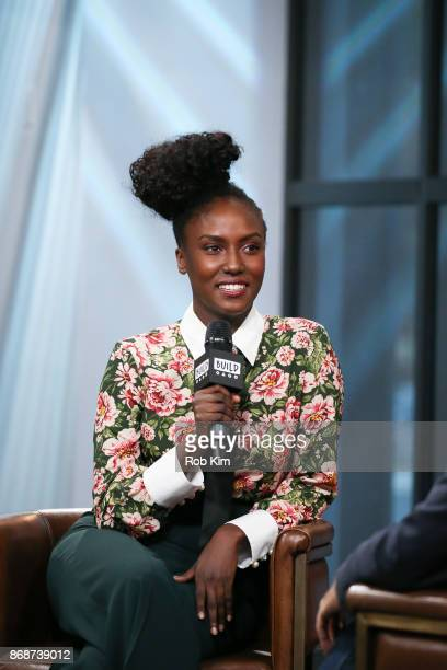 Jade Eshete discusses 'Dirk Gently's Holistic Detective Agency' during the Build Series at Build Studio on October 31 2017 in New York City
