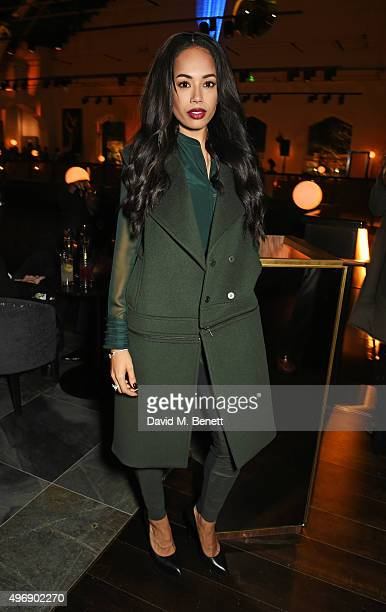 Jade Ewen attends the launch of new restaurant German Gymnasium on November 12 2015 in London England
