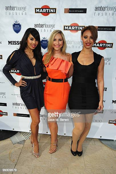 Jade Ewen Heidi Range and Amelle Berrabah of the Sugababes appear at the Amber Fashion Show and Auction held at the Meridien Beach Plaza on May 14...