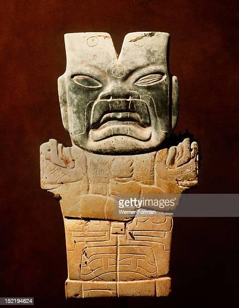 Jade figurine of a jaguar spirit Mexico Olmec