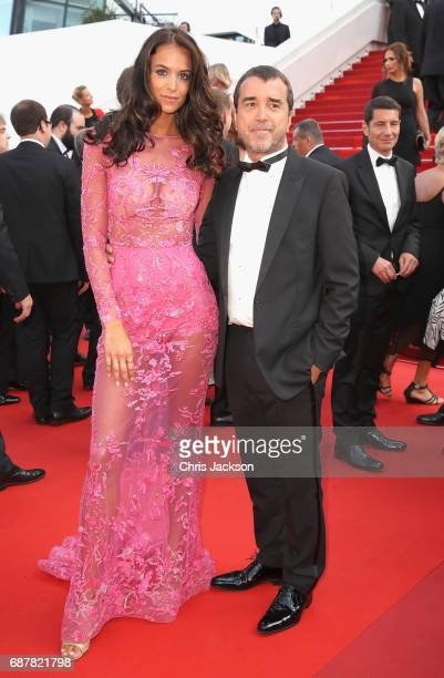 "Jade Foret and Arnaud Lagardere attend ""The Beguiled"" premiere during the 70th annual Cannes Film Festival at Palais des Festivals on May 24, 2017 in..."
