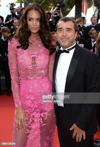 "Jade Foret and Arnaud Lagardere attend the ""The Beguiled"" screening during the 70th annual Cannes Film Festival at Palais des Festivals on May 24,..."