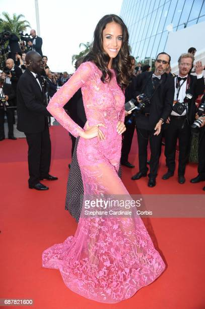 Jade Foret attends The Beguiled premiere during the 70th annual Cannes Film Festival at Palais des Festivals on May 24 2017 in Cannes France