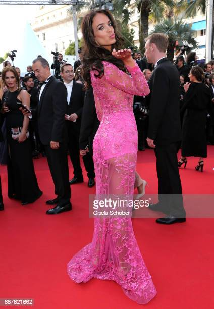 "Jade Foret attends ""The Beguiled"" premiere during the 70th annual Cannes Film Festival at Palais des Festivals on May 24, 2017 in Cannes, France."