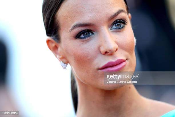 "Jade Foret attends the screening of ""Capharnaum"" during the 71st annual Cannes Film Festival at Palais des Festivals on May 17, 2018 in Cannes,..."