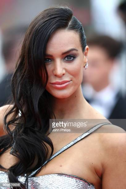 "Jade Foret attends the screening of ""The Wild Pear Tree "" during the 71st annual Cannes Film Festival at Palais des Festivals on May 18, 2018 in..."