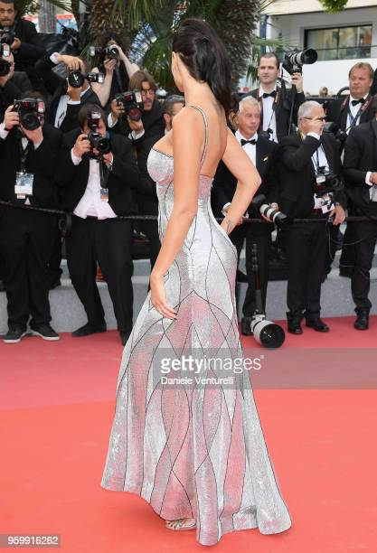 Jade Foret attends the screening of The Wild Pear Tree during the 71st annual Cannes Film Festival at Palais des Festivals on May 18 2018 in Cannes...