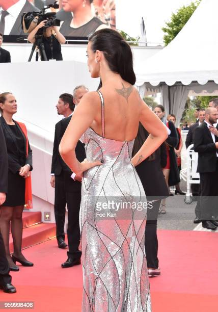 Jade Foret attends the screening of 'The Wild Pear Tree ' during the 71st annual Cannes Film Festival at Palais des Festivals on May 18 2018 in...