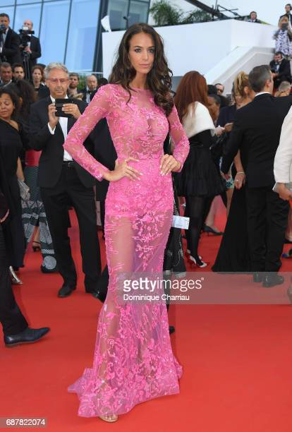"Jade Foret attends the ""The Beguiled"" screening during the 70th annual Cannes Film Festival at Palais des Festivals on May 24, 2017 in Cannes, France."