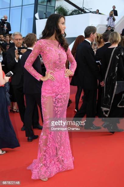 Jade Foret attends the The Beguiled screening during the 70th annual Cannes Film Festival at Palais des Festivals on May 24 2017 in Cannes France