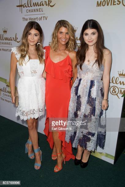 Jade Giannulli Lori Loughlin and Isabella Rose Giannulli attend the 2017 Summer TCA TourHallmark Channel And Hallmark Movies And Mysteries at a...