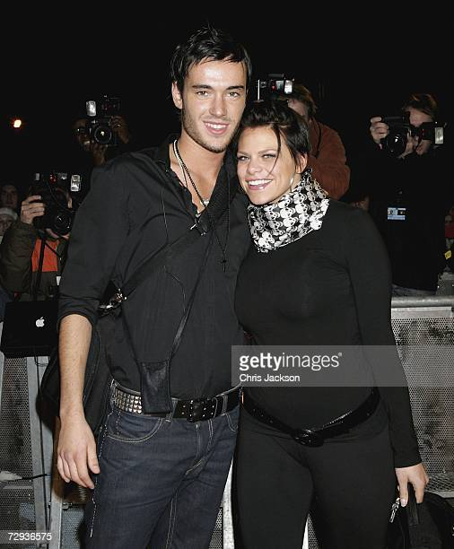 Jade Goody and Jack Tweedy arrive for Celebrity Big Brother series five at Elstree Studios on January 5 2007 in London England