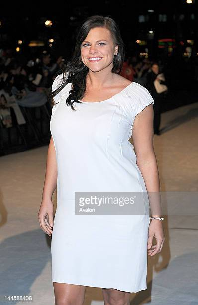 Jade Goody attending The Accidental Husband UK Premiere Vue West End London 13th February 2008 Job 40134