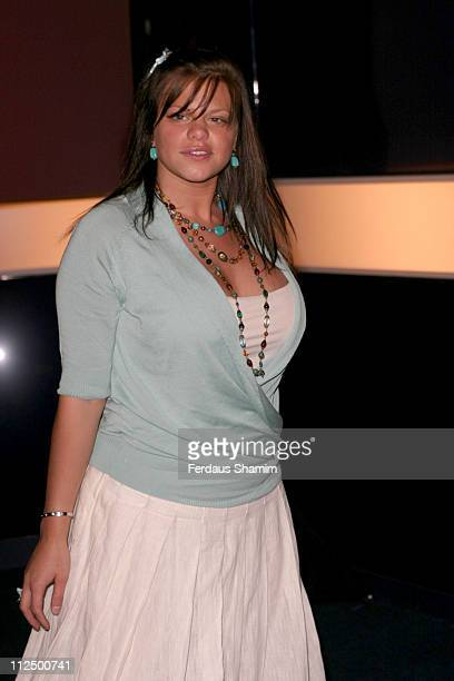 Jade Goody during Hell's Kitchen II - Day 14 - Arrivals at Atlantis Building in London, Great Britain.