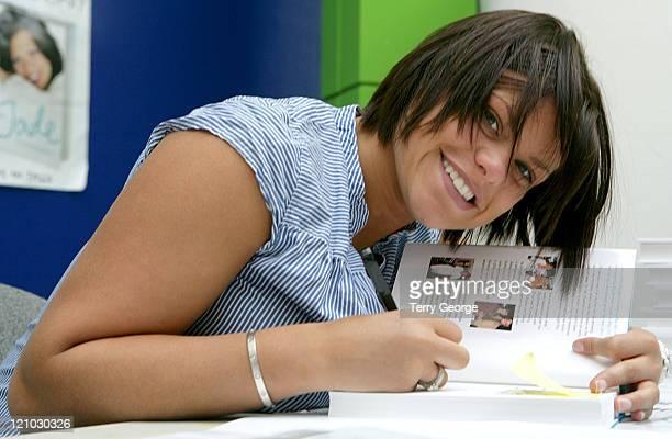 Jade Goody during Jade Goody Signs Her Book 'Jade' at ASDA May 10 2006 at ASDA House in Leeds Great Britain