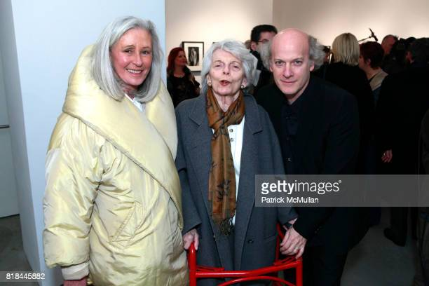 Jade Hobson Timothy GreenfiedSanders and Grace Mirabella attend TIMOTHY GREENFIELDSANDERS And CYNTHIA MACADAMS Gallery Opening at Steven Kasher...