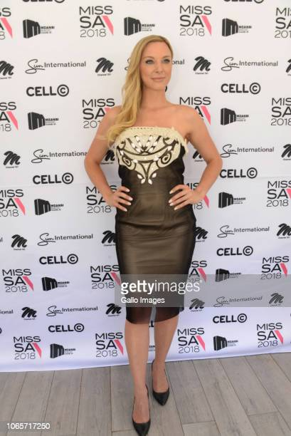 Jade Hubner during the farewell of Miss SA 2018 Tamaryn Green ahead of her departure at the Maslow Hotel on November 22 2018 in Sandton South Africa...