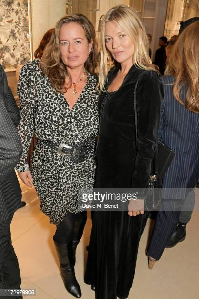Jade Jagger and Kate Moss attend the Dior Sessions book launch on October 01 2019 in London England