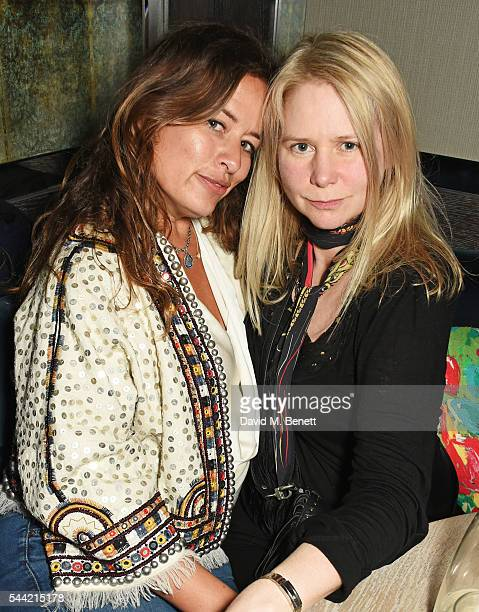 Jade Jagger and Lee Starkey attend the Massive Attack after party at 100 Wardour St following their performance at the Barclaycard British Summer...