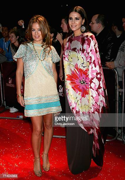 Jade Jagger and Margerita Missoni arrive at the Swarovski Fashion Rocks concert at the Royal Albert Hall on October 18 2007 in London England