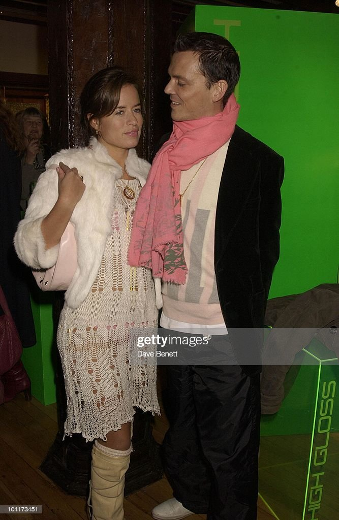 Jade Jagger And Mathew Williamson, Liberty Celebrate Mathew Williamson And Bay Garnett Dressing Their Windows For London Fashion Week