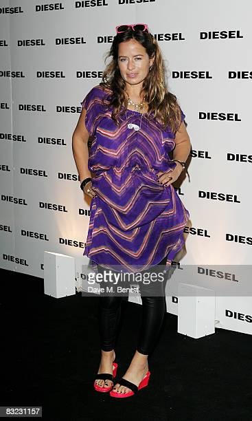 Jade Jagger arrives at The Diesel xXx Creative Experiment Party as Diesel celebrates its 30th Birthday at Matter in the O2 Arena on October 11 2008...