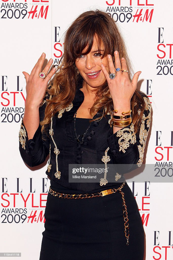 Jade Jagger arrives at the Elle Style Awards 2009 at Big Sky Studios on February 9, 2009 in London, England.