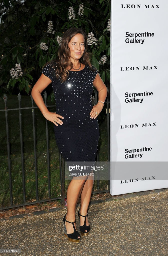 Jade Jagger arrives at the Serpentine Gallery Summer Party sponsored by Leon Max at The Serpentine Gallery on June 26, 2012 in London, England.