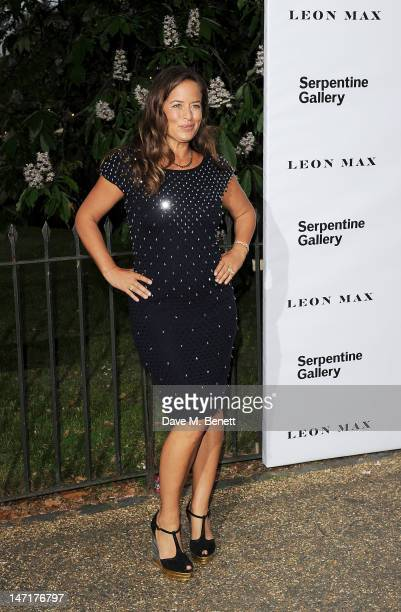 Jade Jagger arrives at the Serpentine Gallery Summer Party sponsored by Leon Max at The Serpentine Gallery on June 26 2012 in London England