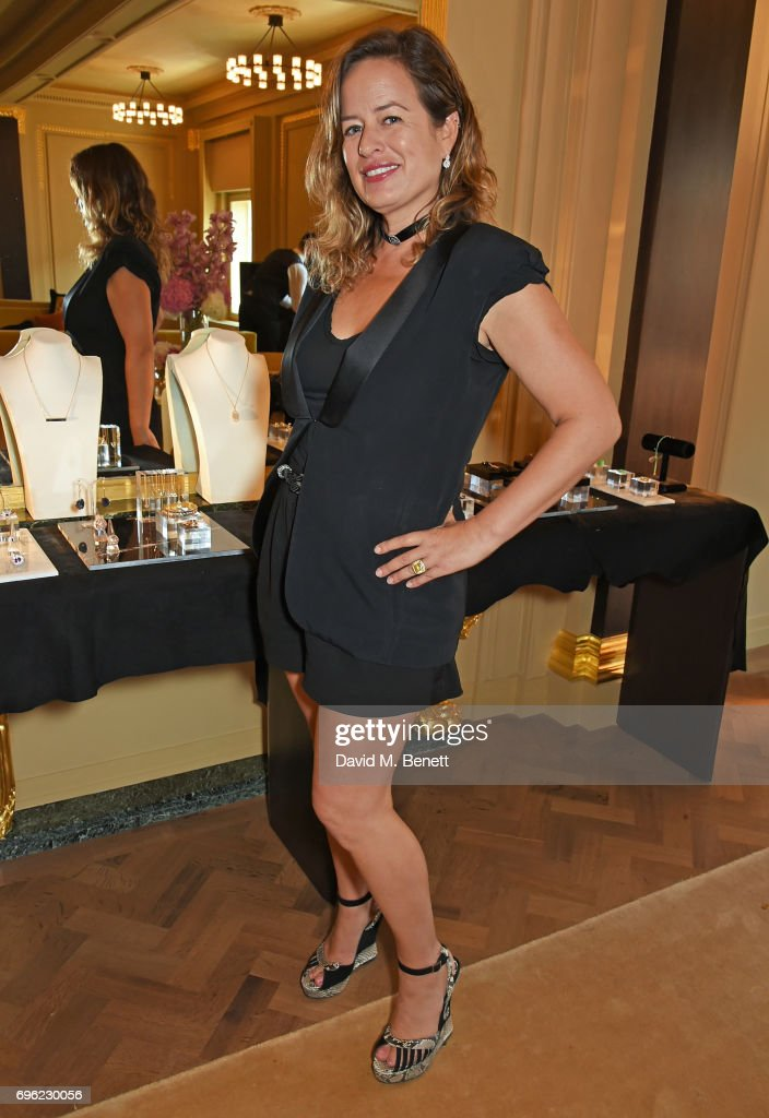 Jade Jagger Jewellery Launch At Hotel Cafe Royal