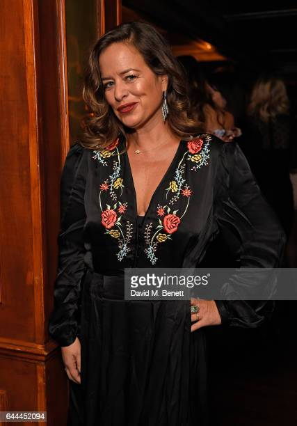 Jade Jagger attends Alice McCall Fall 2017 Collection Launch Vip Dinner at Albert's on February 23 2017 in London England