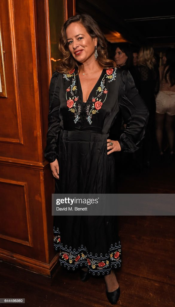 Jade Jagger attends Alice McCall Fall 2017 Collection Launch Vip Dinner at Albert's on February 23, 2017 in London, England.