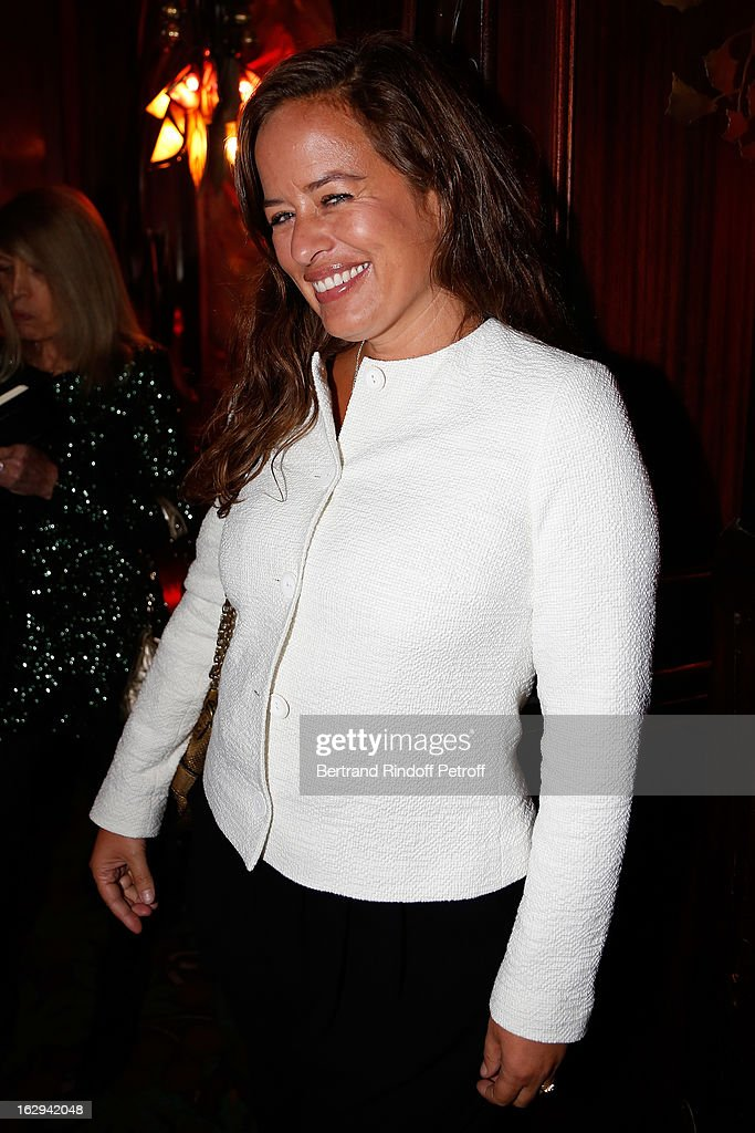 Jade Jagger attends Pierre Pelegry's birthday party at Maxim's on March 1, 2013 in Paris, France.