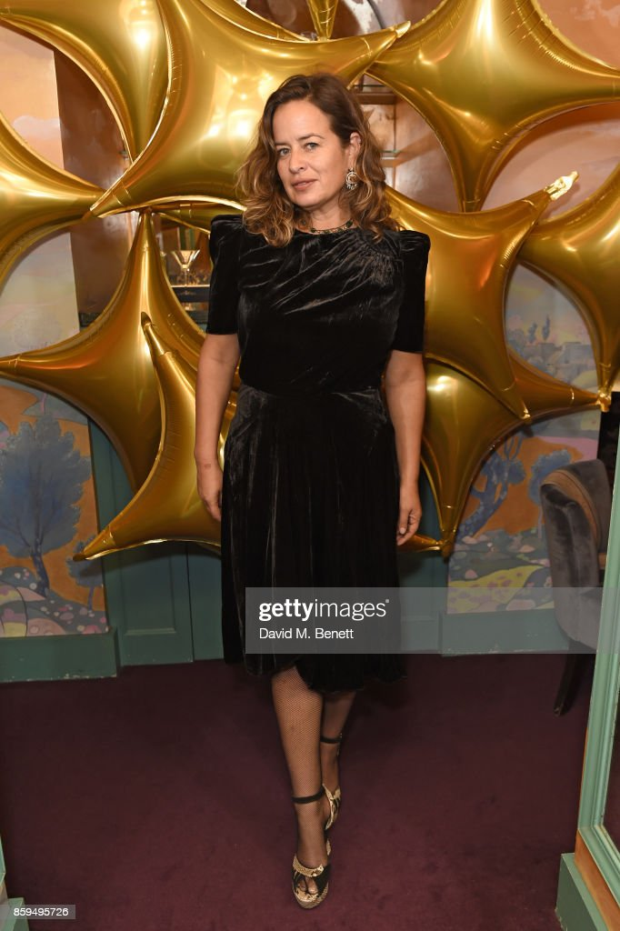Jade Jagger attends the Conde Nast Traveller 20th anniversary after party at Annabel's on October 9, 2017 in London, England.