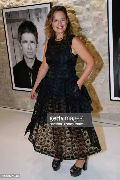 Jade Jagger attends the Don't Take it Personally by Jade Jagger JeanBaptiste Pauchard Exhibition Party on July 6 2017 in Paris France