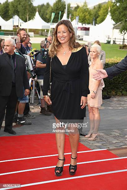 Jade Jagger attends the FEI European Championship 2015 media night on August 11 2015 in Aachen Germany