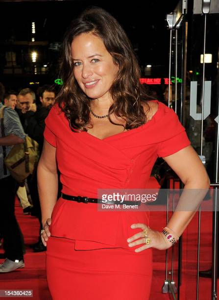 Jade Jagger attends the Gala Premiere of 'Crossfire Hurricane' during the 56th BFI London Film Festival at Odeon Leicester Square on October 18 2012...