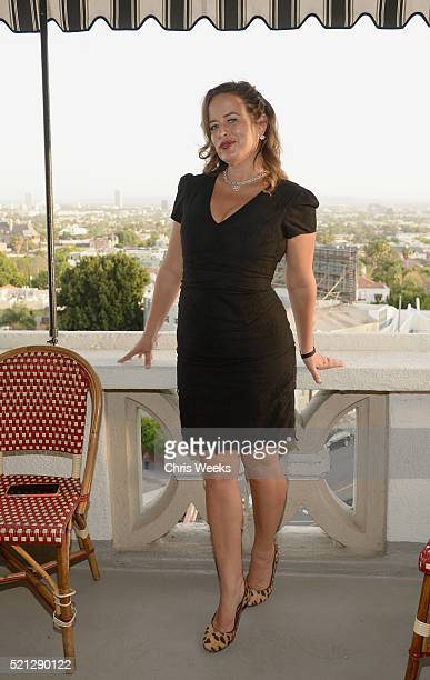 Jade Jagger attends the launch of Jade Jagger's new fine jewelry collection at Chateau Marmont on April 14 2016 in Los Angeles California